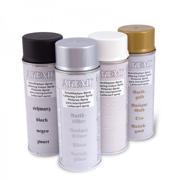 Akemi Letterverf Spray 400 ml